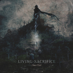 "Living Sacrifice - ""Ghost Thief"" CD cover image - Click to read review"