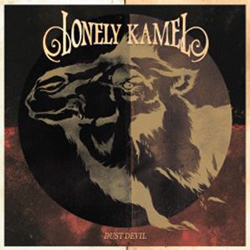 "Lonely Kamel - ""Dust Devil"" CD cover image - Click to read review"