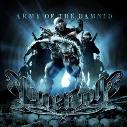 "Lonewolf - ""Army Of The Damned"" CD cover image - Click to read review"