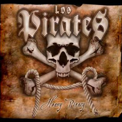 "Los Pirates - ""Heavy Piracy"" CD cover image - Click to read review"