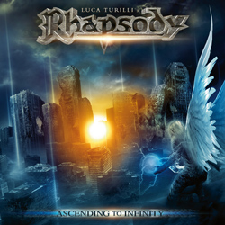 "Luca Turilli's Rhapsody - ""Ascending To Infinity"" CD cover image"