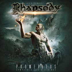 "Luca Turilli's Rhapsody - ""Prometheus: Symphonia Ignis Divinus"" CD cover image - Click to read review"