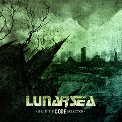 "Lunarsea - ""Route Code Selector"" CD cover image - Click to read review"