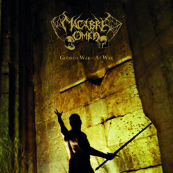 "Macabre Omen - ""Gods Of War - At War"" CD cover image"