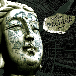 "Machina - ""Majestic Machination"" CD cover image"