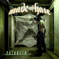 "Made of Hate - ""Pathogen"" CD cover image - Click to read review"