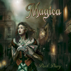 "Magica - ""Dark Diary"" CD cover image - Click to read review"