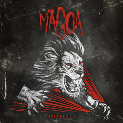 "Magoa - ""Animal"" CD/EP cover image - Click to read review"