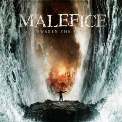 "Malefice - ""Awaken The Tides"" CD cover image"