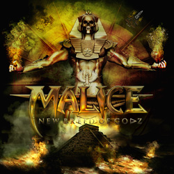 "Malice - ""New Breed Of Godz"" CD cover image - Click to read review"