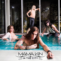 "Mama Kin - ""In The City"" CD cover image - Click to read review"