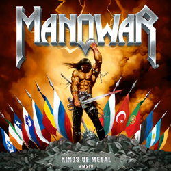 "Manowar - ""Kings Of Metal MMXIV"" CD cover image - Click to read review"