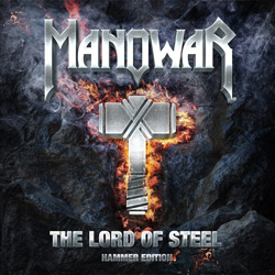 "Manowar - ""The Lord Of Steel (Hammer Edition)"" CD cover image - Click to read review"