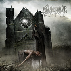 "Mantic Ritual - ""Executioner"" CD cover image - Click to read review"