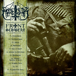 "Marduk - ""Frontschwein"" CD cover image - Click to read review"