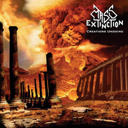 "Mass Extinction - ""Creation's Undoing"" CD cover image - Click to read review"