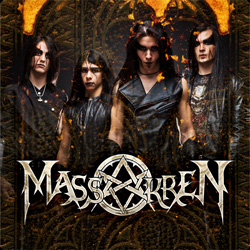 "Massakren - ""Massakren"" CD/EP cover image - Click to read review"