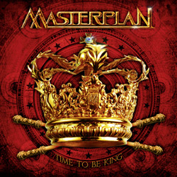 "Masterplan - ""Time To Be King"" CD cover image - Click to read review"