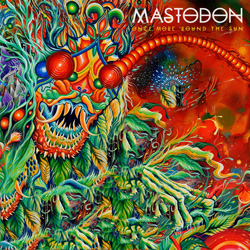 "Mastodon - ""Once More 'Round The Sun"" CD cover image"