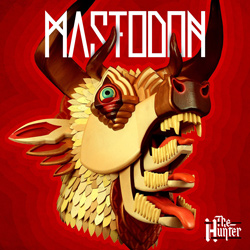 "Mastodon - ""The Hunter"" CD cover image - Click to read review"