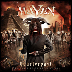 "Mayan - ""Quarterpast"" CD cover image"