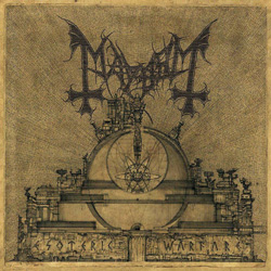 "Mayhem - ""Esoteric Warfare"" CD cover image - Click to read review"