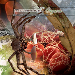 "Mechanical Organic - ""Disrepair Part Three: Genesis of a Germ"" CD cover image - Click to read review"