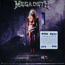 "Megadeth - ""Countdown To Extinction 20th Anniversary Edition"" 2-CD Set cover image"