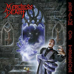 "Merciless Death - ""Realm of Terror"" CD cover image - Click to read review"