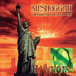 "Meshuggah - ""Contradictions Collapse Reloaded"" CD cover image - Click to read review"