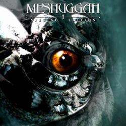 "Meshuggah - ""I (Special Edition Reissue)"" CD cover image"