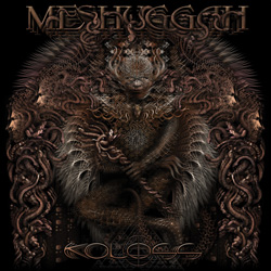 "Meshuggah - ""Koloss"" CD cover image - Click to read review"