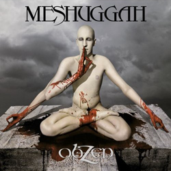 "Meshuggah - ""obZen"" CD cover image - Click to read review"