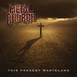 "Metal Church - ""This Present Wasteland"" CD cover image"