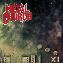 "Metal Church - ""XI"" CD cover image - Click to read review"