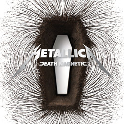 "Metallica - ""Death Magnetic"" CD cover image - Click to read review"