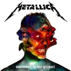 "Metallica - ""Hardwired...To Self-Destruct"" CD cover image"