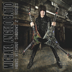 "Michael Angelo Batio - ""Hands Without Shadows 2 - Voices"" CD cover image"
