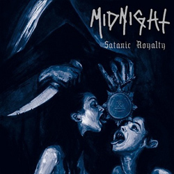 "Midnight - ""Satanic Royalty"" CD cover image - Click to read review"
