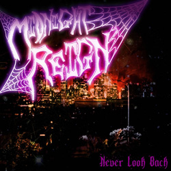 "Midnight Reign - ""Never Look Back"" CD cover image"