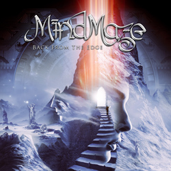 "MindMaze - ""Back From The Edge"" CD cover image - Click to read review"