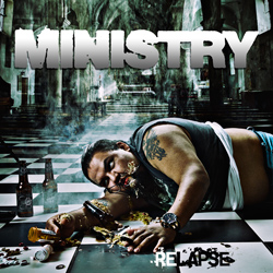 "Ministry - ""Relapse"" CD cover image - Click to read review"