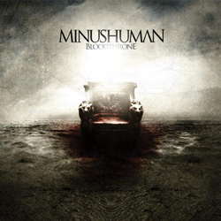 "Minushuman - ""Bloodthrone"" CD cover image - Click to read review"