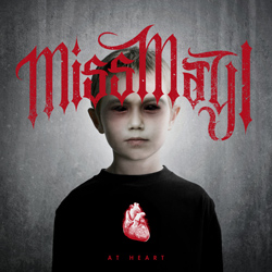 "Miss May I - ""At Heart"" CD cover image - Click to read review"