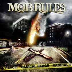 "Mob Rules - ""Radical Peace"" CD cover image"