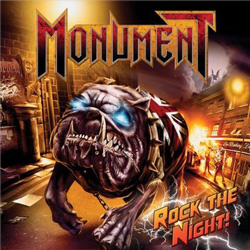 "Monument - ""Rock The Night"" CD/EP cover image"
