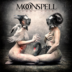 "Moonspell - ""Alpha Noir"" CD cover image"