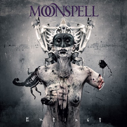 "Moonspell - ""Extinct"" CD cover image - Click to read review"