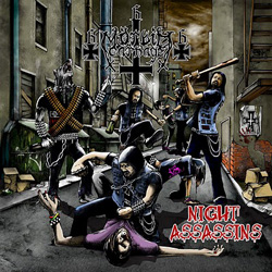 "Morbid Carnage - ""Night Assassins"" CD cover image - Click to read review"