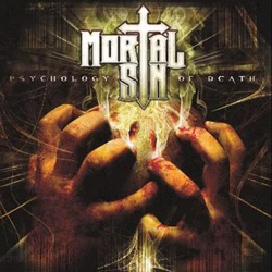 "Mortal Sin - ""Psychology Of Death"" CD cover image"